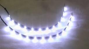 Deko-Licht-LED-Leuchten-Kueche-Bad-Wohnwand-Regal-Beleuchtung-2x30cm ...